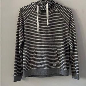 Striped Garage hoodie